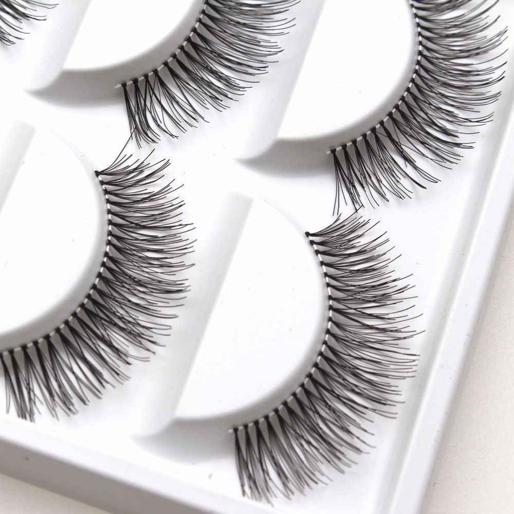 10 Pairs Handmade Mink False Eyelashes Natural Cross Thick Eye Lashes Volumizing and Thickening Your Eyelashes Perfect Big Eyes