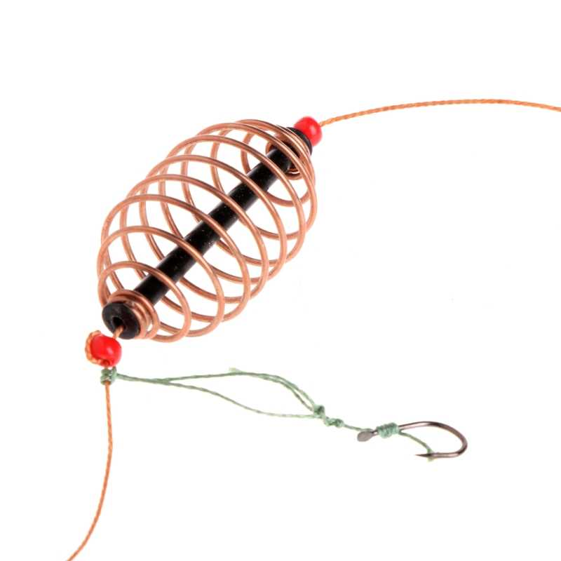 Swivel Line Hooks Carp Fishing with Lead Sinker Helicopter Rig Components