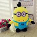 Movie & TV Despicable ME Pegman 30cm plush toy smile pegman with two eyes design doll gift w2306