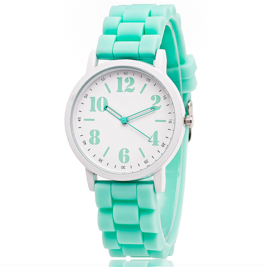 MJARTORIA Candy Color Silicone Watches Women Students Girls Quartz Sport Wrist Watch Clock Hour Fashion Children Kids Wristwatch perfect gift boys girls students time electronic digital wrist sport watch green levert dropship nov29