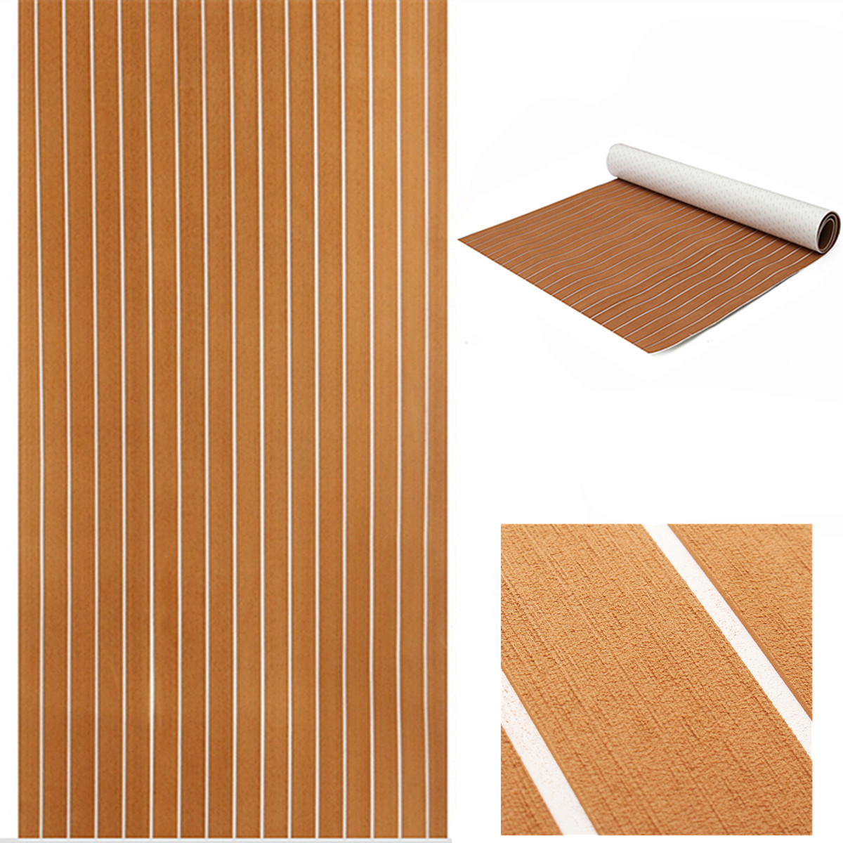 120x240cm 5mm Self Adhesive Teak Boat Decking Teak Flooring EVA Foam Teak Sheet Marine Car Yacht Floor Mat Synthetic Teak Pad teak house свеча damask pineapple red