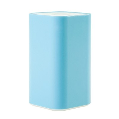 Creative hand pressure automatic toothpick extinguishers portable toothpick box Home sitting room color press type cotton candy in Toothpick Holders from Home Garden