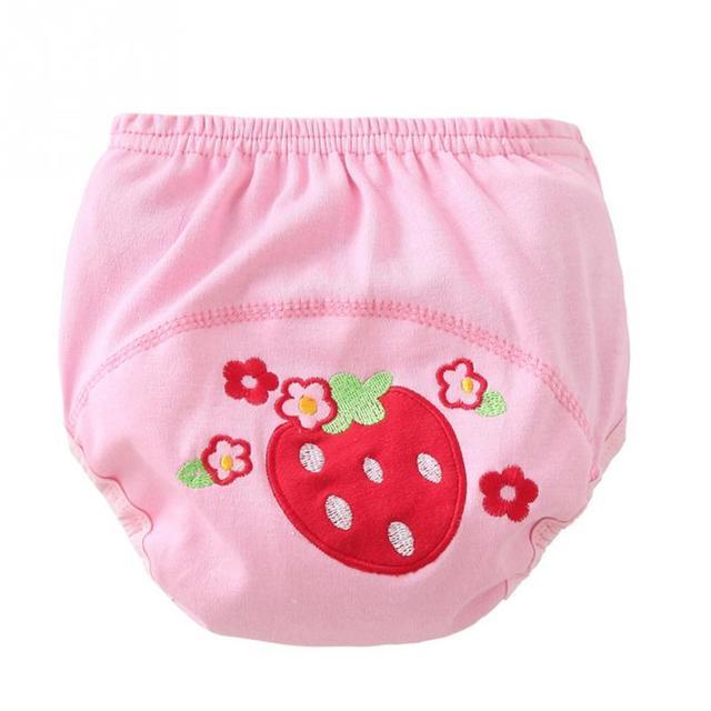 Cartoon baby training pants waterproof diaper pant potty toddler panties new underwear Reusable
