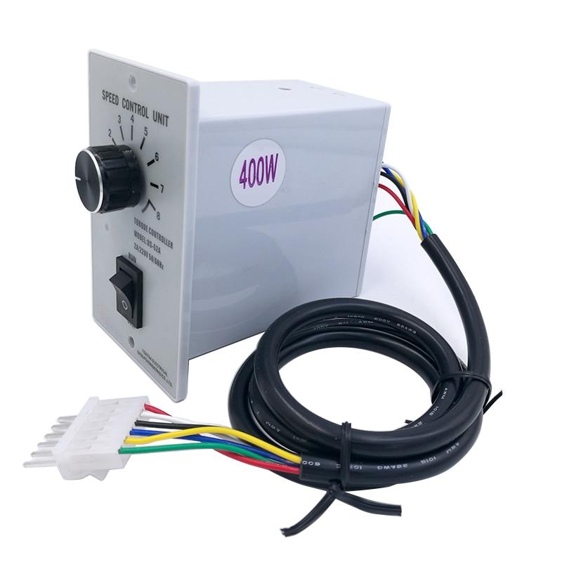 Controlador de motor de velocidad de CA US-52, regulador de velocidad regulada para palabra de fondo, conversión de frecuencia de 400W