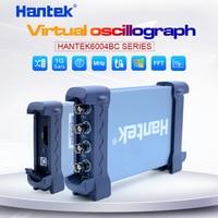 Hantek USB осциллограф комплект 4CH аналоговые каналы 1GSa/s 70 МГц 100 МГц 200 МГц 250 МГц осциллограф для ПК Поддержка Winows 7 8 10