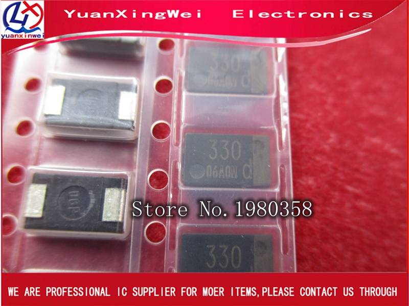 20pcs/lot SMD 4V 330UF Tantalum Capacitor Low ESR 330UF 4TPB330M Can Replace OE128 OE907 0.8