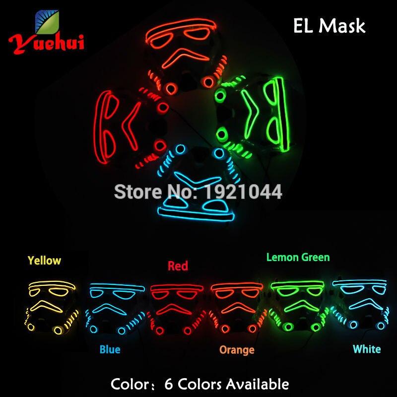 10 colores parpadeantes de moda Tema de película Máscara de - Para fiestas y celebraciones - foto 4