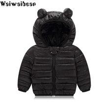 a4ac1532 Waiwaibear bebé abrigos de invierno chaqueta para niños ropa con capucha  para niños y niñas abrigo