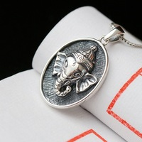 Ecoworld Ge jewelry wholesale authentic S925 Sterling Silver Pendant Pendant Silver Silver Elephant God lovers Pendant