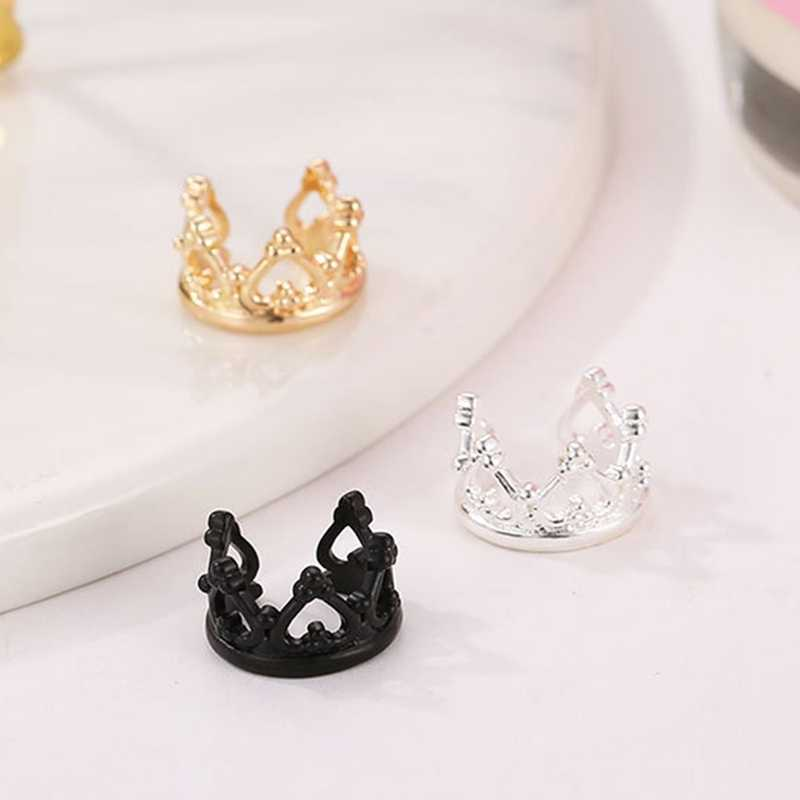New Crown U-shaped Clip Earrings Non Pierced Ear Bone Ear Clip Earrings Invisible Women Brincos Bijoux Fashion Jewelry