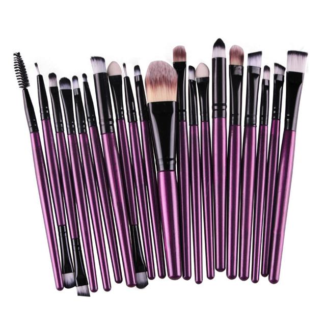 ROSALIND 20Pcs/Sets New Foundation Makeup Brushes