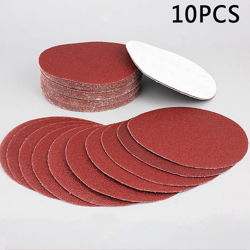 10pcs 4 Inches 100mm 320 Grit Sanding Discs Sandpapers For Polishing Sanding Sand Paper High Quality Polishing Wood