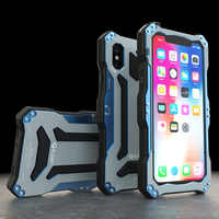 Original Gundam Armor Metal Aluminum Case For iPhone X Waterproof 360 Full Protection Hard Cover For Apple iPhone X Phone Cases