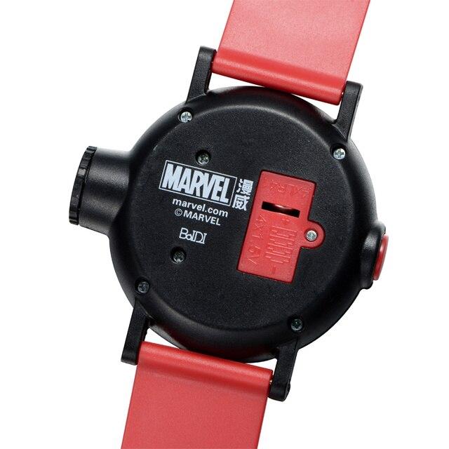 Disney Kinder Projektor Uhr 10 Muster Kunststoff Marvel Iron Man Uhr 30 M Wasserdichte Sport Kinder Uhr Hodinky Digitale 81018