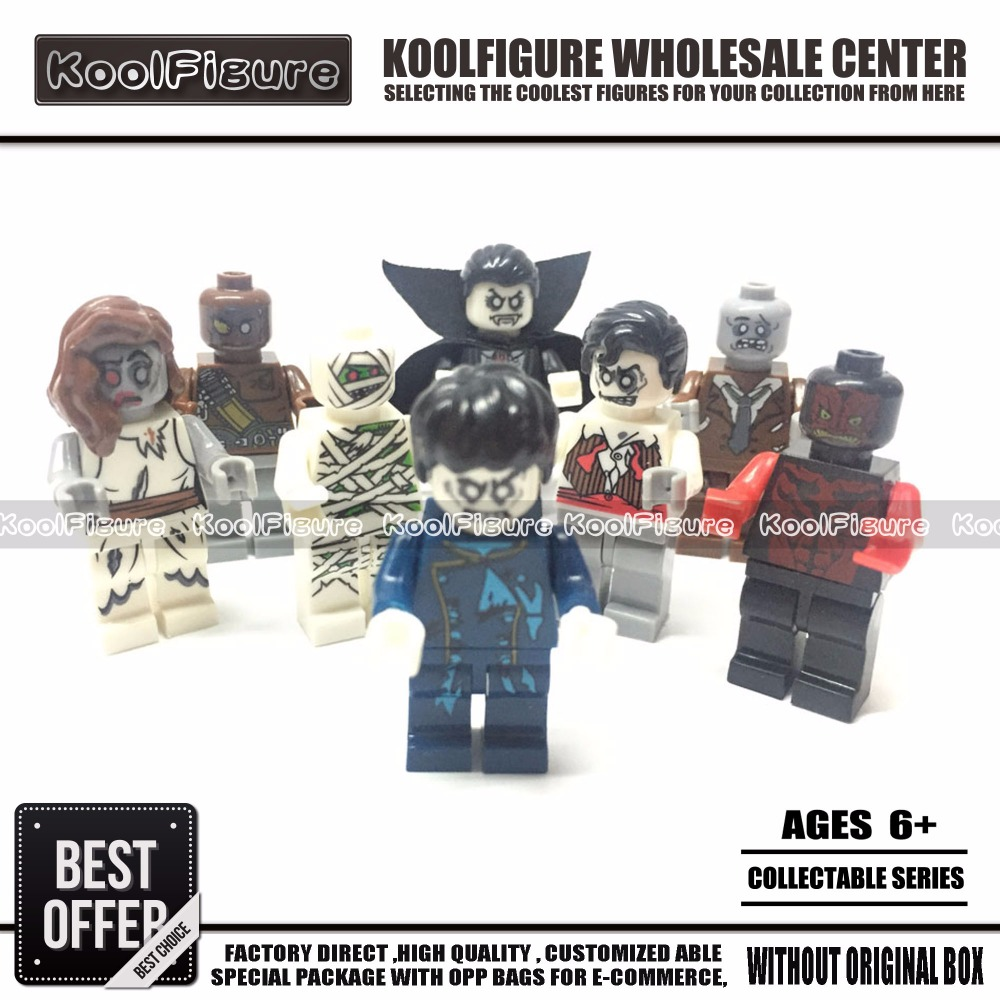 8PCS Zombie World Walking Dead Figures Set,Vampire Figure Toys for Halloween Days Gift,Toys for Children the walking dead action figure zombie figures head resin crystal car ornament home desk decoration furnishing articles