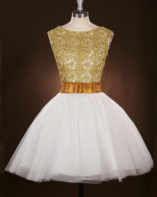White and Gold Sweet 16