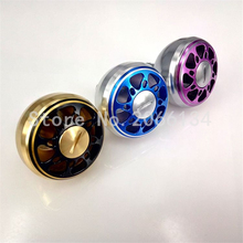 DIY CNC machined metal handle Aluminium knobs 35/38/42mm 2BB for daiwa abu bait casting spining reels fishing tackles saltwater