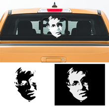 free shipping 1PC singer-songwriter musician and composer The Genius RAY CHARLES pickup window sticker