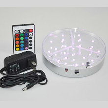 Free Shipping 6inch led vase light base Decoracao Wedding Decor For Frozen As Event Celebration Supplies with remote control