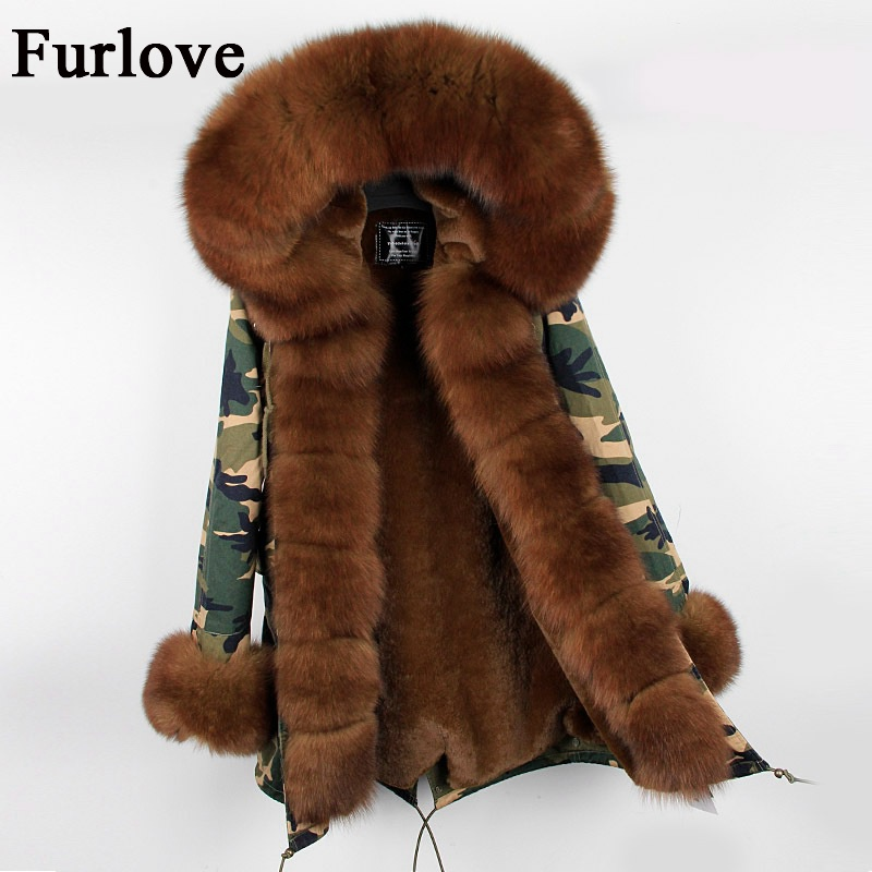 Womens Winter Jackets Women Fur Parka Coat Real Fox Fur Collar Hooded Coats Casual Removable Fur Jacket Warm Thick Long Parkas winter coat women womens jackets natural raccoon fur collar hooded jacket real fox fur parka thick coats casual long warm parkas