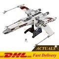 2017 DHL LEPIN 05039 1586 unids Star Wars El x-wing Rojo cinco Modelo Starfighter Kit Set de Regalo Bloques de Construcción Ladrillos Clon 10240