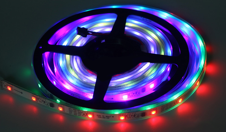 20м 30м 10м 5м СИД 5050 Түс түсі Magic RGB Суға - LED Жарықтандыру - фото 5