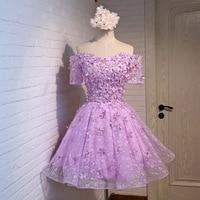 FOLOBE Women Girls Lace Dresses Elegant Vintage Applique Pleated Flowers Ball Gown Evening Party Dress Formal Dress Hot