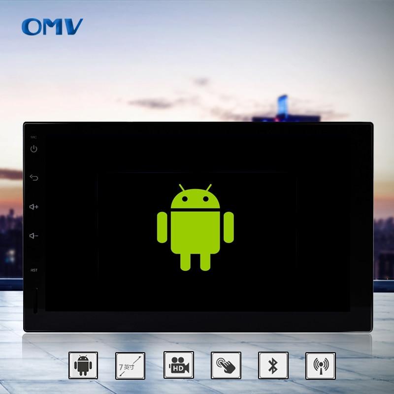 Car Styling HD 7 inch TFT Screen HD Universal 2Din GPS Navigation MP5 MP4 MP3 Navigator