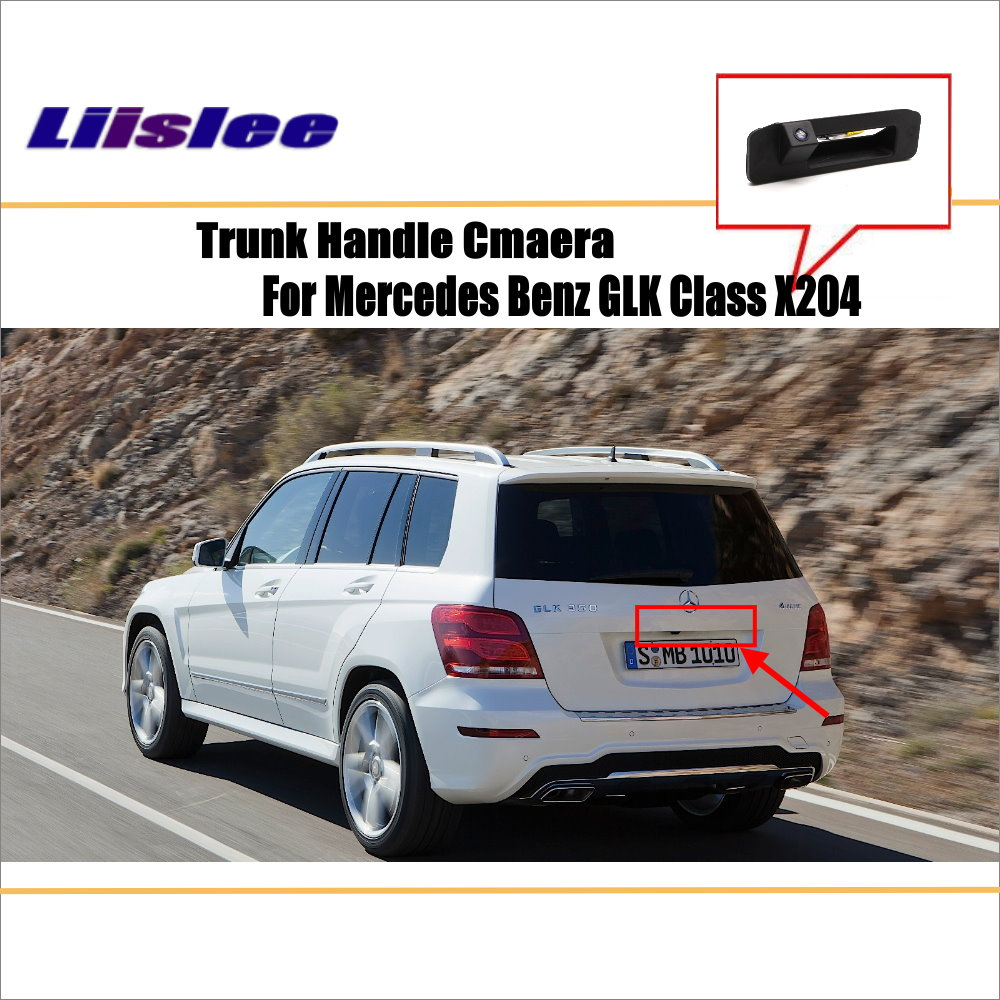 Liislee Car Parking Camera Reverse Camera For Mercedes Benz GLK Class X204 RearView Camera Trunk Handle OEM in Vehicle Camera from Automobiles Motorcycles