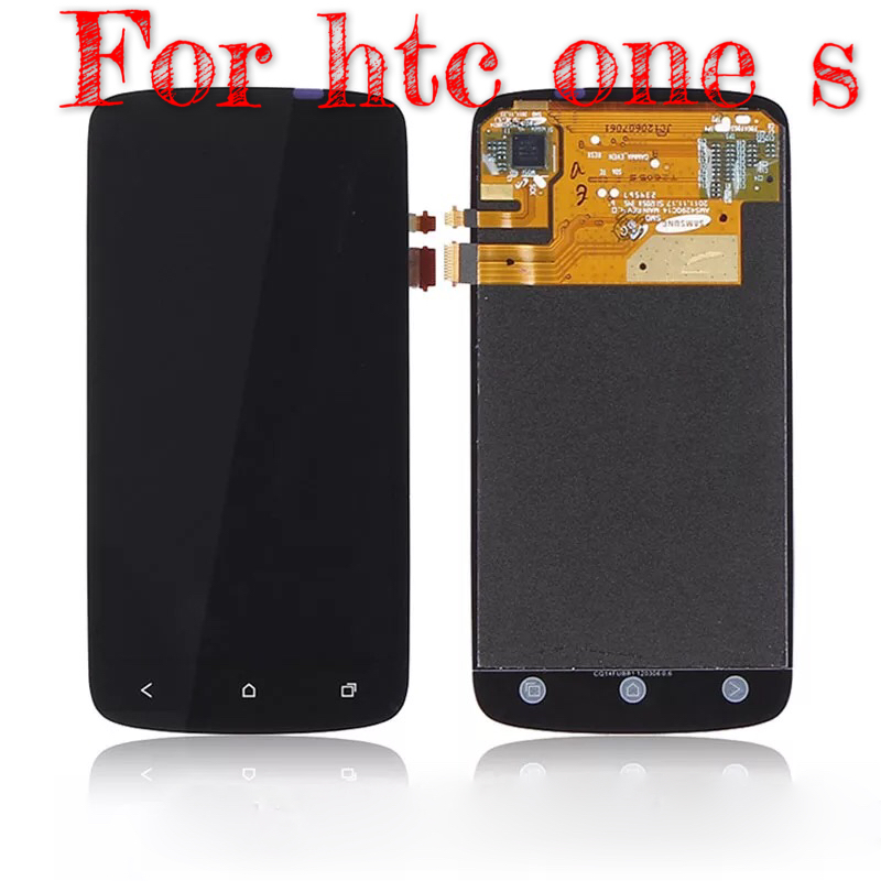 FOR htc one S LCD Z520e Z560e LCD display screen with touch screen digitizer assembly full set, lcd
