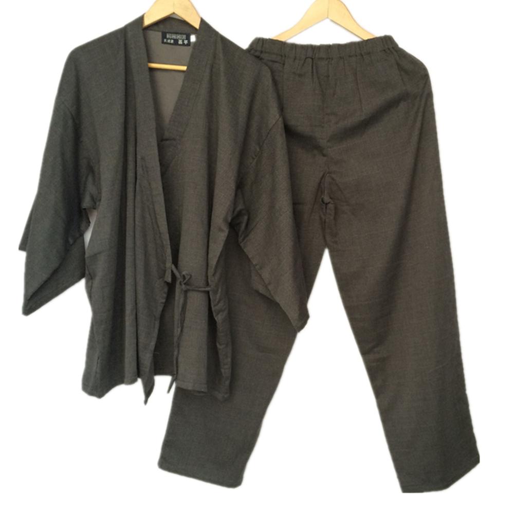 4bfcfc5903 Cotton Yukata Japanese Kimono Traditional Japanese Men s Clothing ...