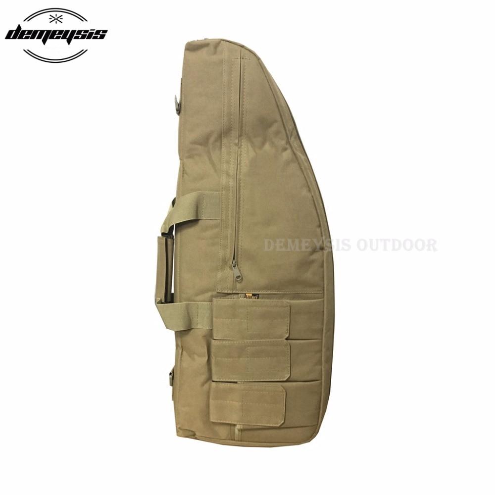 3 tamanho náilon rifle tático arma sacos