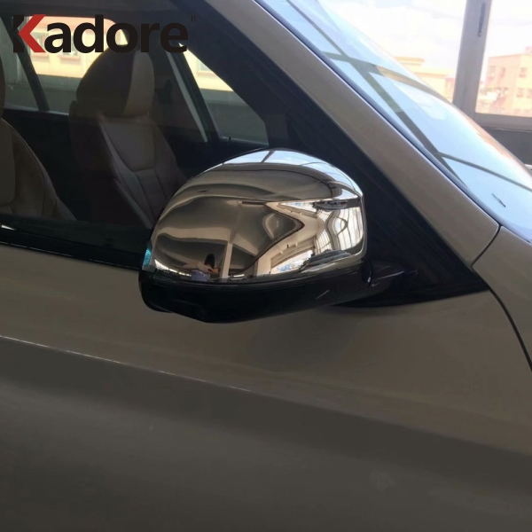 For <font><b>BMW</b></font> <font><b>X3</b></font> <font><b>G01</b></font> 2018 2019 ABS Chromed Side Door Rearview <font><b>Mirror</b></font> <font><b>Cover</b></font> Trims Car Styling Sticker Exterior Accessories image