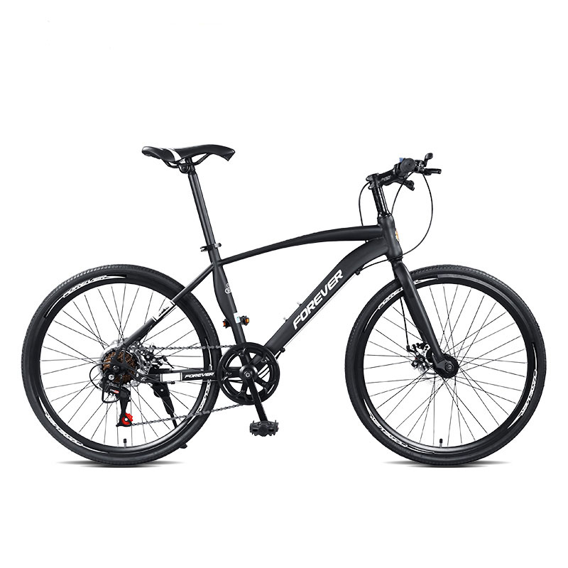 Road Bike Entry Level For Men And Women Racing Bicycle Flat Disc Brake Super Light Super Fast Variable Speed 24 Inch Bicycle