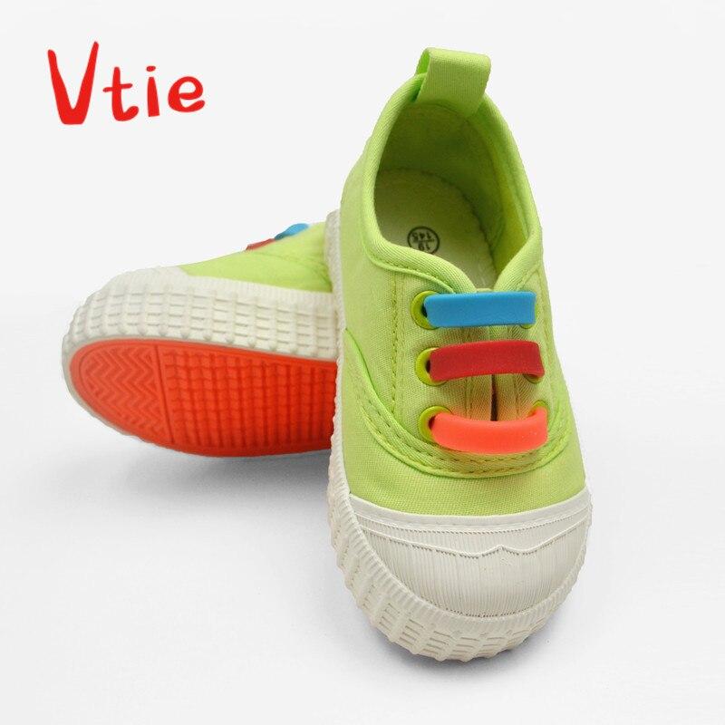 12pcs/pack Lazy Shoelaces No Tie Shoelaces For Kids Easy Tie Shoe Laces For Children Shoes With Super Elastic