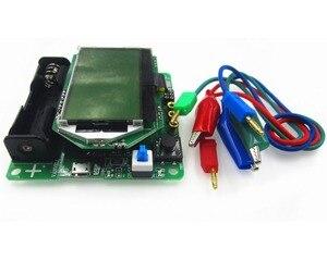 Image 1 - 1set New 3.7V version of inductor capacitor ESR meter DIY MG328 multifunction transistor tester