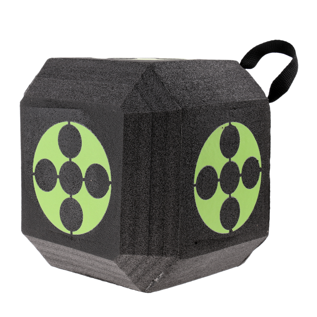 Image 2 - 18 Sided 3D Cube Reusable Archery Target Constructed with Rapid Self Recovery XPE Foam for all Arrow Types Hunting Shooting-in Paintball Accessories from Sports & Entertainment