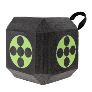 Image 2 - 18 seitige 3D Cube Wiederverwendbare Bogenschießen Ziel Gebaut mit Schnelle Selbst Recovery XPE Schaum für alle Pfeil Arten Jagd schießen