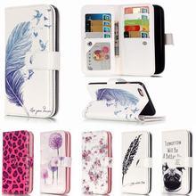 3D Рельеф Бумажник Флип Чехол Для Коке iPhone 6 s Кожаный Чехол + силиконовые Чехлы Для Apple iPhone 6 pCover Чехол + 9 Карты слот