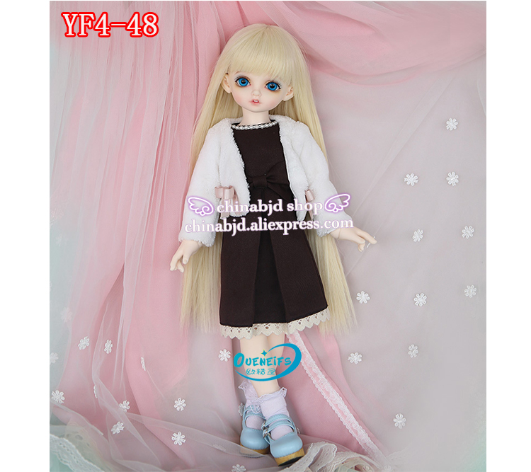 OUENEIFS  girl body long skirt dress cappa 1/4 bjd sd doll clothes customization,have not bjd sd doll or wig oueneifs girl boy baby jumpsuits send cap customization bjd clothes doll 1 12 clothes yf12 29 30 31 32 have not wig or doll