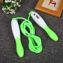 Newly Jump Rope With Counter Sport Fitness Equipment Fast Speed Counting Adjustable Jumping Skipping Ropes BF88
