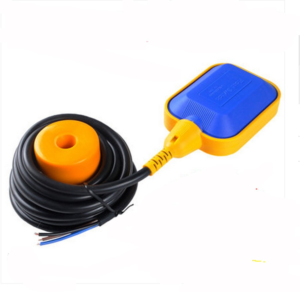 EM15-2Float switch:Water tower/ tank/ Liquid level switch control valve(line length: 2 m)   lzx 4a 8a level float switch pp water level control for water pump water tower tank normally closed