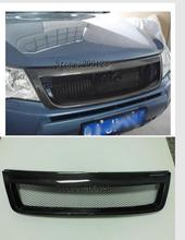 Автомобиль avant решетка решетки cas avec une банде pour для Subaru Forester 2009-2012 отправить черный углеродное волокно