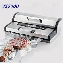 vs5400 220v50hz food vacuum sealer vacuum packing machine vacuum chamber aluminum bags food rice tea vacuum sealing machine