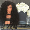 Hot Selling Sythetic Lace Front Wig Cheap Kinky Curly Synthetic Lace Front Wigs With Baby Hair Synthetic Wig For Women