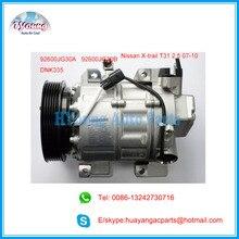 Carro de um compressor a/c compressor para Nissan X-Trail T31 2.5L 07-10 92600ET82A 92600JG30A 92600JG30B Z0003904C