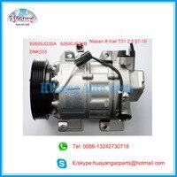 Carro de um compressor a/c compressor para Nissan X Trail-T31 2.5L 07-10 92600ET82A 92600JG30A 92600JG30B Z0003904C