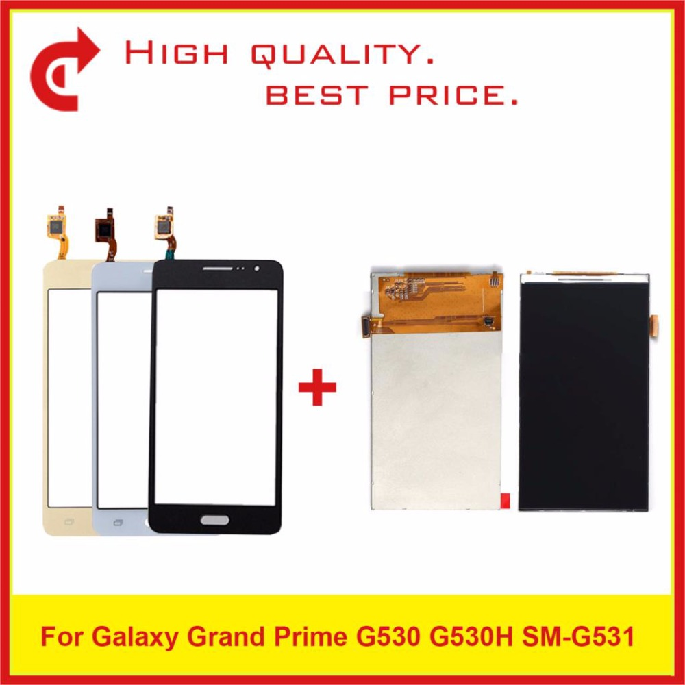 "5.0"" For Samsung Galaxy Grand Prime SM G530 G530 G530F G530H SM G531 G531 G531F G531H LCD Display +Touch Screen Digitizer Sensor-in Mobile Phone LCD Screens from Cellphones & Telecommunications"