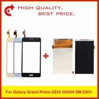 """5.0 """"pour Samsung Galaxy Grand Prime SM-G530 G530 G530F G530H SM-G531 G531 G531F G531H écran LCD + capteur de numériseur d'écran tactile"""