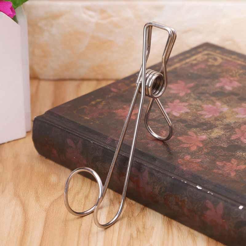 Taşınabilir çamaşır kanca paslanmaz çelik asılı elbise Peg Pin Boot ayakkabı askısı tutucu klip fotoğraf kartpostal resim kelepçe ofis